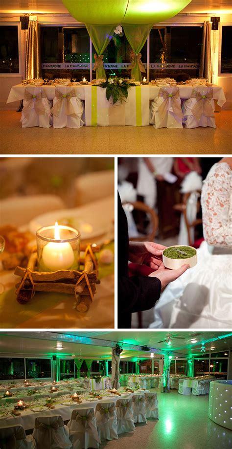 noeud pour chaise table de mariage thème nature