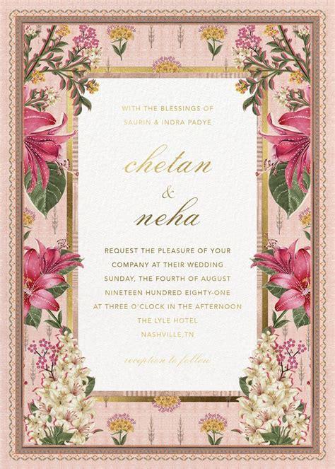 #AnitaDongre XPaperless Post: Bespoke #Digital #Wedding #