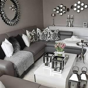 Grey White Living Room Ideas - Nakicphotography