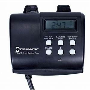 Intermatic Hb880r 15amp Seven Day Outdoor Digital Timer