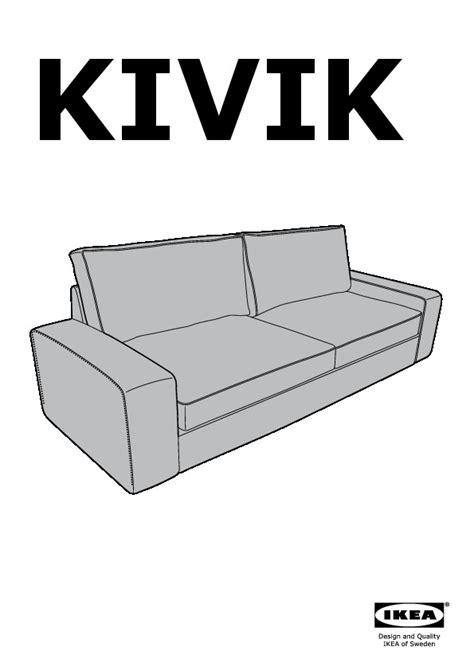 canape kivik ikea convertible kivik convertible 3 places tullinge brun foncé ikea
