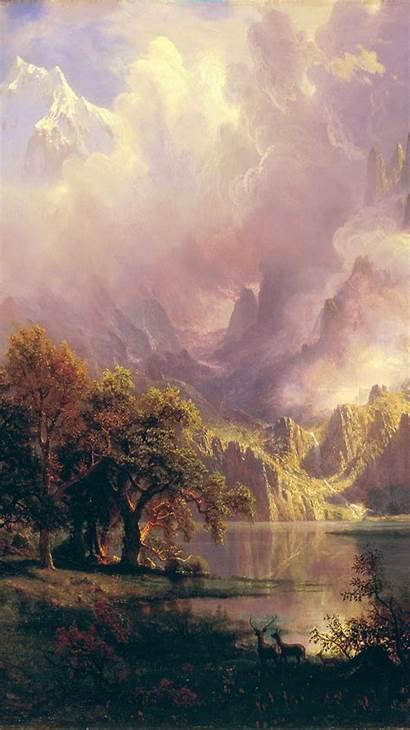 Iphone Painting Classic Bierstadt Albert Renaissance Paintings