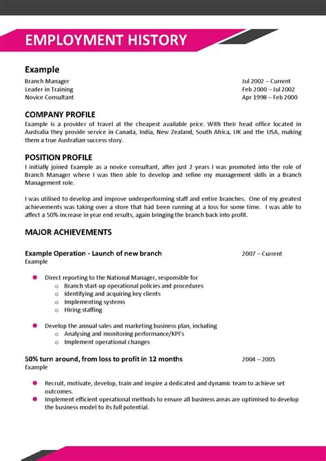 Executive Resume Writing Service Australia by We Can Help With Professional Resume Writing Resume