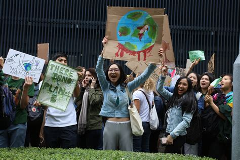 Our favourite photos from the student climate strike ...