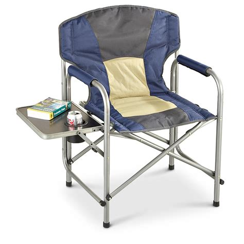 Folding Directors Chair With Side Table Canada by Guide Gear 174 Director S Chair With Side Table 164012