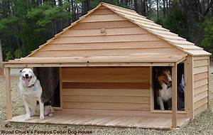 Diy dog houses dog house plans aussiedoodle and for Large duplex dog house
