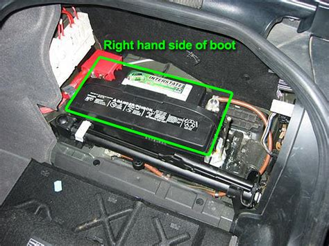 bmw  series car battery location abs batteries