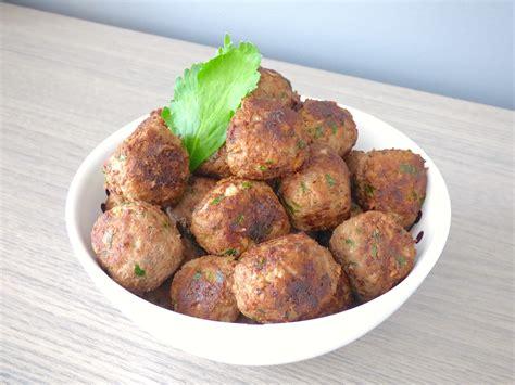cuisiner des boulettes de viande boulette de viande a la marocaine 1 recettes de