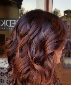 Balayage Braun Rot : 50 scrumptious fall hair colors my new hairstyles ~ Frokenaadalensverden.com Haus und Dekorationen