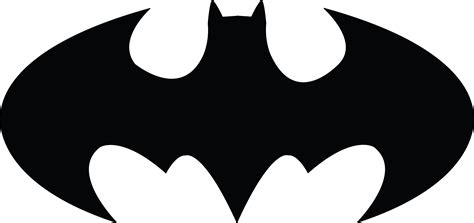 batman clipart black and white free clipart of a batman icon