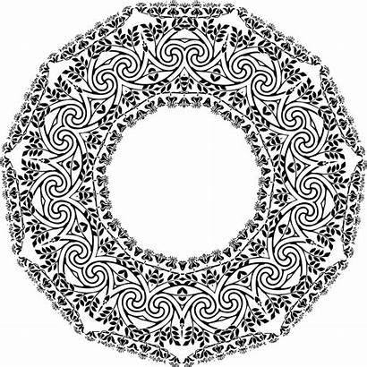 Mandala Coloring Nouveau Pages Adult Designs Adults
