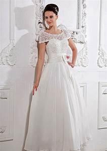 short wedding dresses dressed up girl With short sleeve short wedding dress
