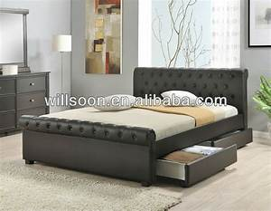 Latest double bed design design and ideas for Letest bad farnichar disine photos