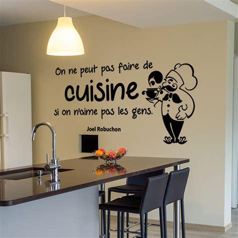 stickers cuisine citation sticker citation on ne peut pas faire de cuisine joel