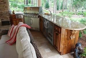 Outdoor Küche überdacht : outdoor k che f r mehr sommergenuss im freien fresh ideen f r das interieur dekoration und ~ Orissabook.com Haus und Dekorationen
