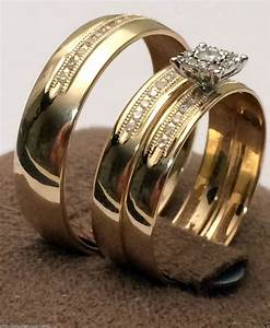 cheap wedding rings sets for him and her With wedding rings for him and her sets