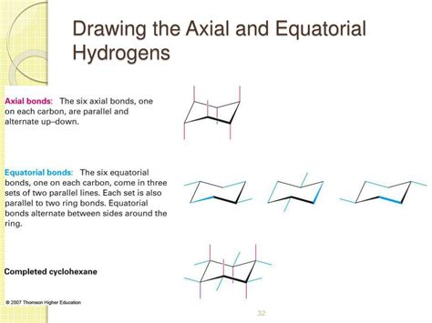 Chair Cyclohexane Axial Equatorial by Ppt 4 Organic Compounds Cycloalkanes And Their