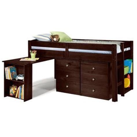 low loft bed with desk and storage greyson living napoli low loft bed with 6 drawer