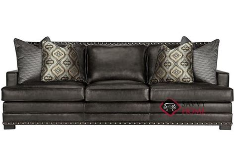 Bernhardt Cantor Sofa Leather by Ship Cantor By Bernhardt Leather Sofa In By