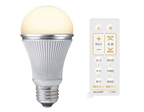 remote controlled led light bulbs offer 7 shades of white