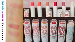 {Review/First Impression} New Baby Lips Dr. Rescue ...