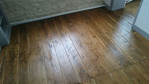 vitrification plancher ancien de chene renovation With parquet chene ancien