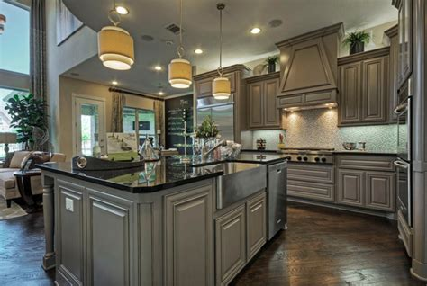 toll brothers plano tx model contemporary kitchen