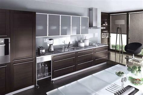 decorating  glass cabinets doors brings light