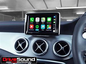 Mercedes Benz Cla45 Amg With Apple Carplay Installed By