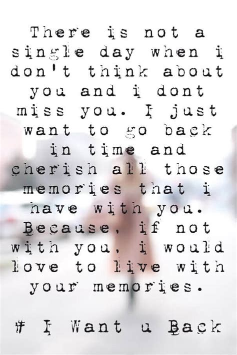 Want You Back Quotes Poems