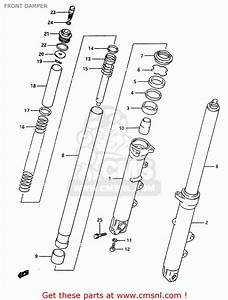 Suzuki Rf600r 1994  R   E02 E04 E15 E17 E18 E21 E22 E24