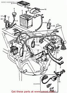 Honda Gl1200 Motorcycle Wiring Diagrams Honda Motorcycle