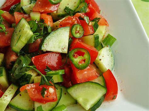 recettes cuisine libanaise recette çoban salatası salade turque recette ramadan