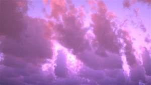 Sky purple pink clouds beautiful cloudy sky Stock Video ...
