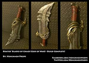 Blades of Chaos (God of War) by HenchmenProps on DeviantArt