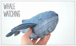 Stofftiere Für Babys : eine sch ne art eine alte jeans in etwas neues zu verwandeln der wal aus jeansstoff eignet ~ Eleganceandgraceweddings.com Haus und Dekorationen