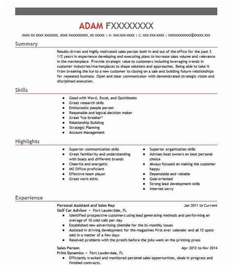 View Resume Sles by Inside Sales Resume Exles Sales Resumes Livecareer