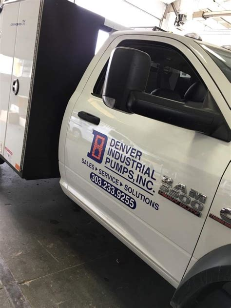 what needs to be on a company vehicle sbw graphics