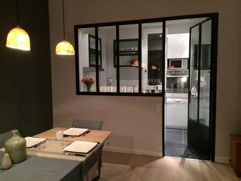 vitre separation cuisine verrières chassîs vitrés industriel cuisine