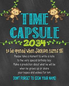 best 25 time capsule birthday ideas on pinterest first With first birthday letter time capsule