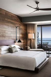 18, Wooden, Accent, Wall, Ideas, For, Modern, Bedroom