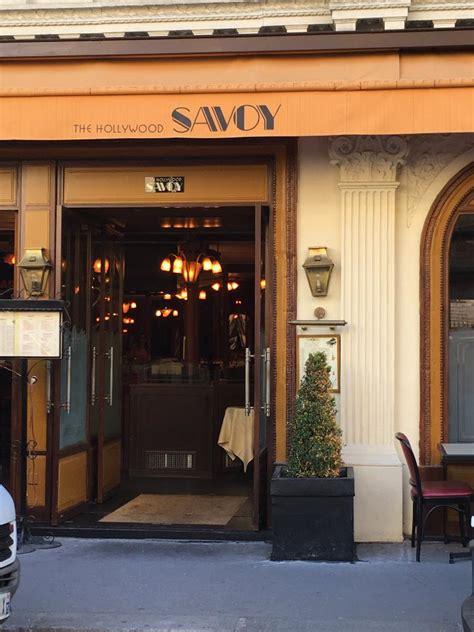 savoy restaurant 44 rue notre dame des victoires 75002 adresse horaire