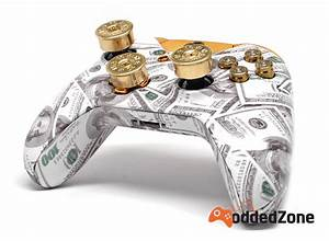 QuotMONEY TALKSquot XBOX ONE MODDED CONTROLLER ModdedZone