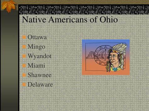 Ppt Native Americans Of Ohio Powerpoint Presentation