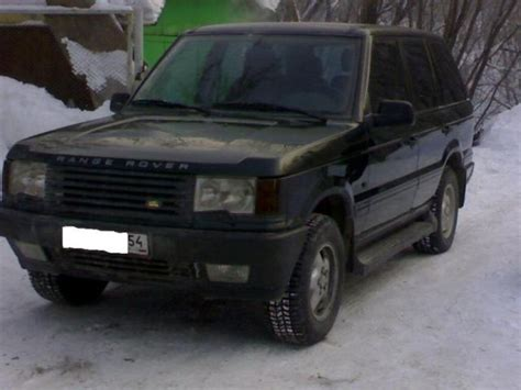 Land Rover Range Rover Picture by 1998 Land Rover Range Rover Pictures