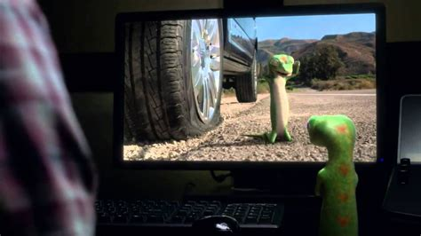 The GEICO Gecko Has a Flat Tire - with Andy Ben directed ...
