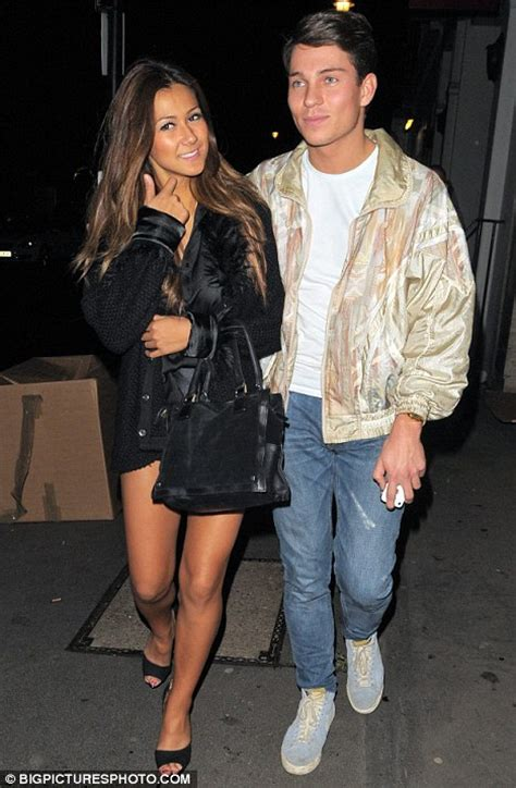 Joey Essex leaves nightclub with mystery brunette at 3am ...