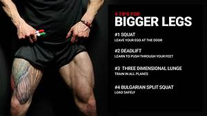 leg workout tips for mass athlean x