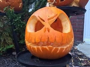 Pumpkin, Carving, Pra