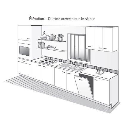 plan amenagement cuisine 10m2 plan de cuisine